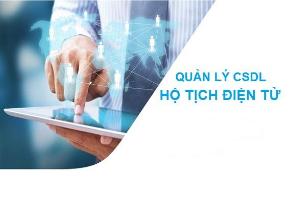 Hệ thống quản lý cơ sở dữ liệu hộ tịch điện tử