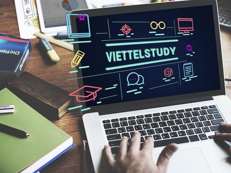 Mạng xã hội học tập trực tuyến ViettelStudy