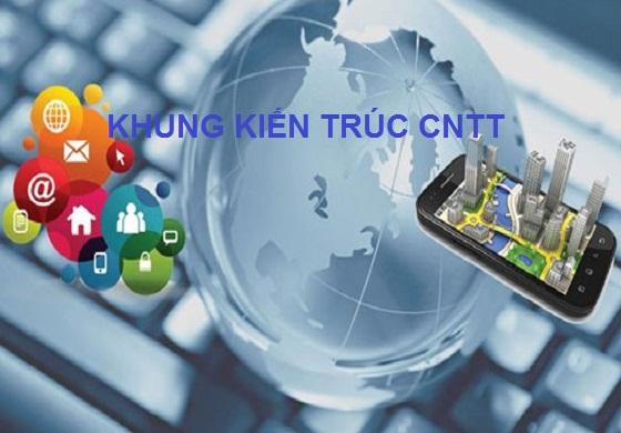 Khung kiến trúc tổng thể ứng dụng CNTT