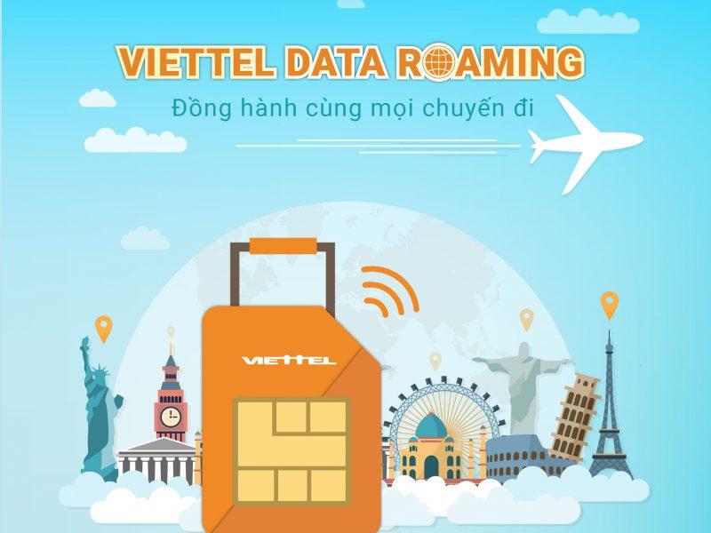 Viettel Data roaming – Ưu đãi mới bay cùng lễ lớn 30/4 – 01/5