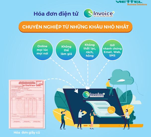 Những ưu điểm của hóa đơn điện tử S-invoice của Viettel