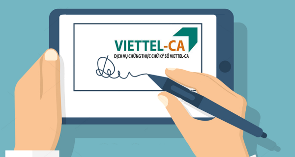 Viettel ra mắt giải pháp ký số từ xa Viettel-CA Cloud không cần thiết bị
