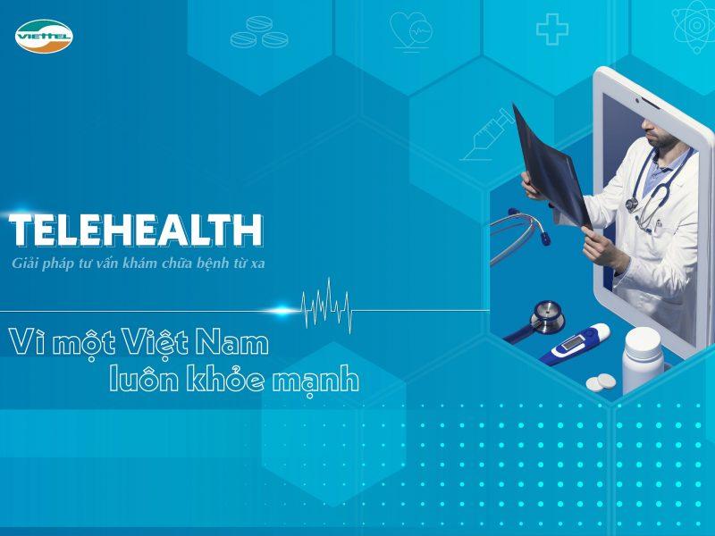 Hệ thống hỗ trợ, tư vấn khám, chữa bệnh từ xa telehealth